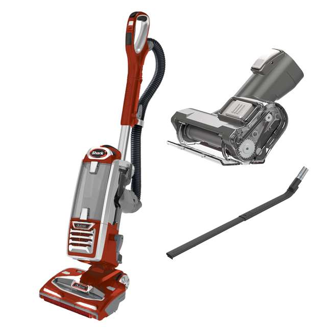 NV800RDREF-RB + XMBRUSH800 + 230FLIN800 Shark Vacuum with Brush & Wand (Certified Refurbished)