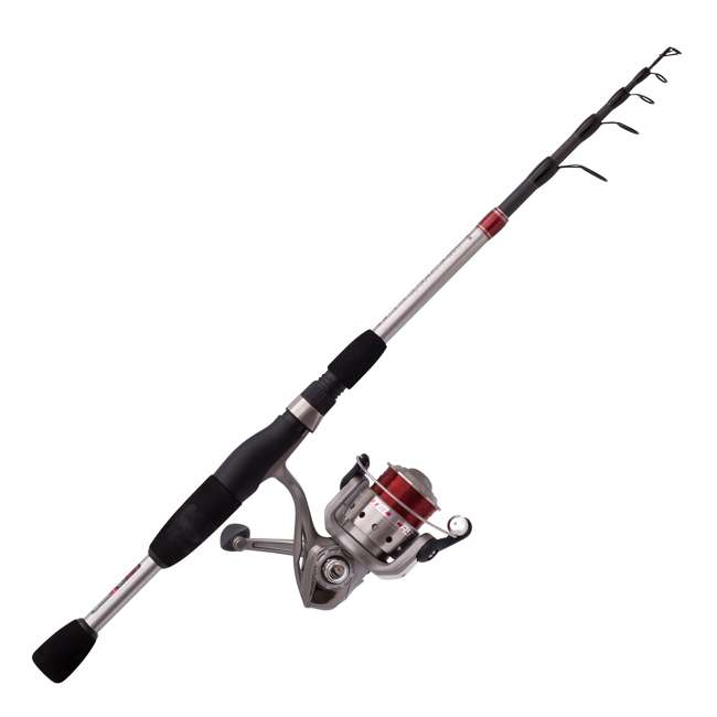 QX30666MTEL Quantum Telecast Medium Spinning Portable Fishing Rod Combo