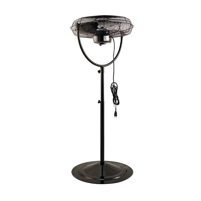 AK-9420-PA-U-A Air King 20 Inch 3 Speed 1/6 HP Adjustable Height Pedestal Fan (Open Box) 4