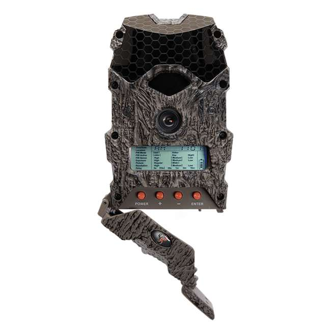 WGI-M18B38D21-7-U-C Wildgame Innovations Lightsout 18MP 720p Hunting Game Camera, Camo (For Parts) 6