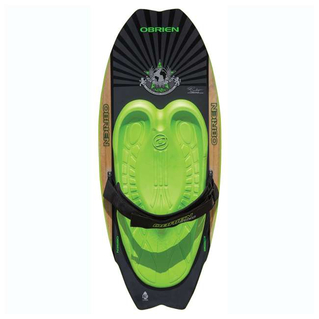 2161228-MW + AHSR-3 O'Brien 51 Inch Sozo Pro Series Towable Kneeboard + Water Ski Wakeboard Rope 1