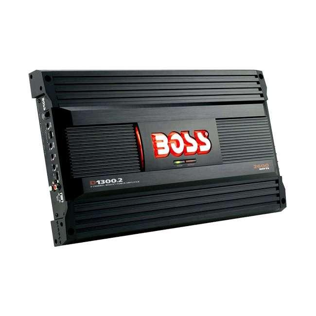 D13002-RB Boss Audio D1300.2 2600 Watt 2-Channel Amplifier (Refurbished)