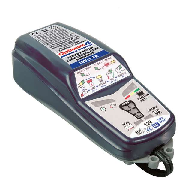 TM-351 TecMate OptiMATE 4 CAN-Bus Edition 12-Volt Battery Charger 3