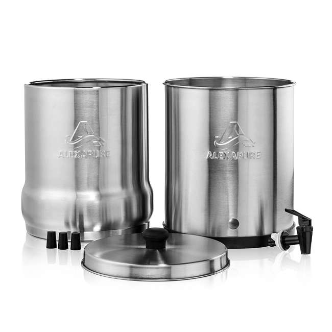 ALEXAPURE-2394 Alexapure Pro Stainless Steel Water Filtration System 4