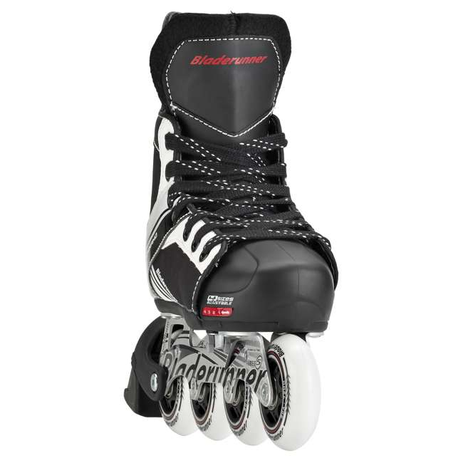 0T200100741-L Rollerblade Dynamo Unisex Kids Adjustable Fitness Inline Skate, Large, Black 3