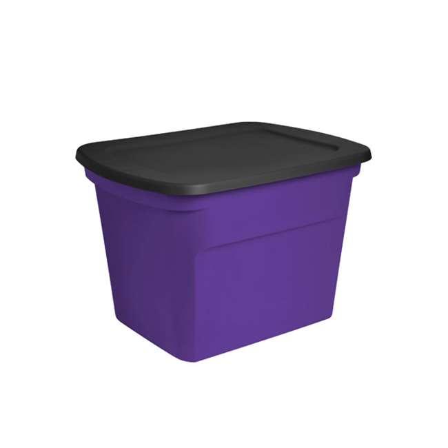 8 x 17310308 Sterilite 18-Gallon Storage Bin with Lid, 8-Count 1