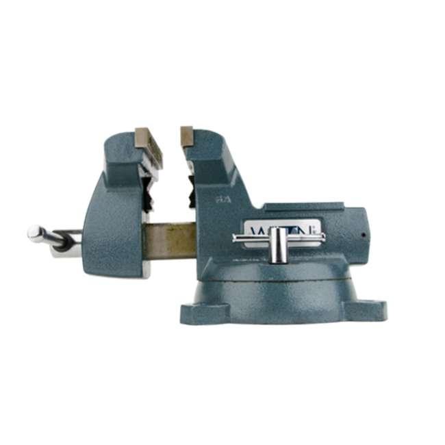 WIL-21800 Wilton Mechanics Vise 8 Inch Jaw with Swivel Base 1