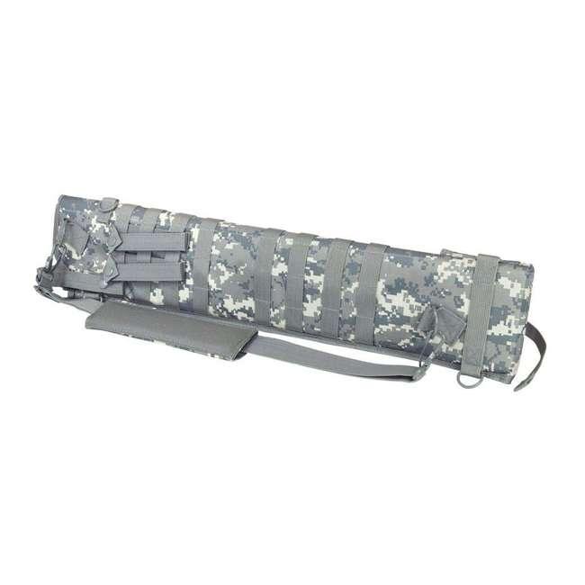 CVSCB2917D NcStar CVSCB2917D Shotgun Scabbard Bag Holster with 4 Straps, Digital Camo
