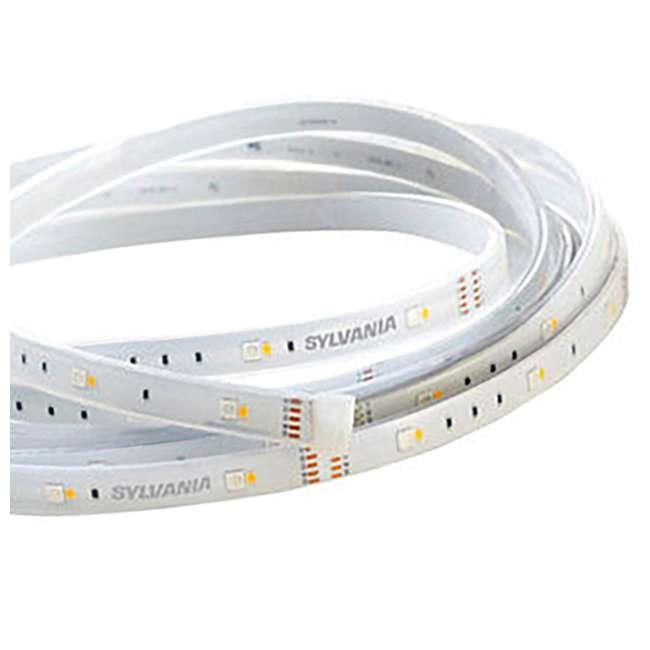 SYL-73685 Sylvania LIGHTIFY LED Indoor Outdoor Flexible Strip Smart Lighting (Open Box) 4