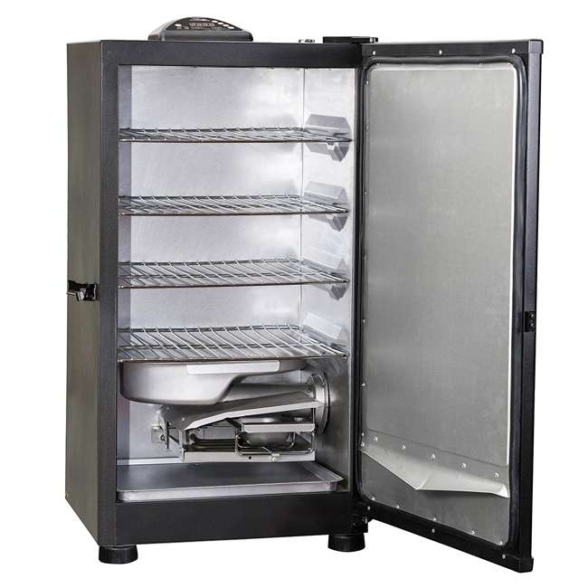 "3 x MB20071117-U-A Masterbuilt Outdoor 30"" Digital Electric Smoker Grill, Black (Open Box) (3 Pack) 2"