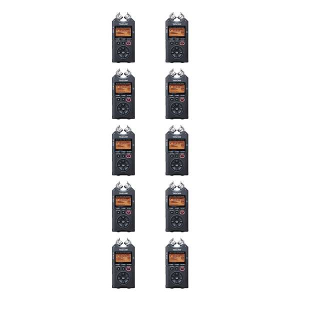 10 x DR-40 Tascam 4 Track Handheld Audio Recorder w/ 2GB SD Card (10 Pack)