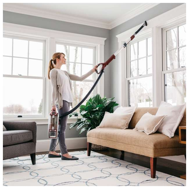 NV801-U-B Shark DuoClean Lift Away Speed Upright Canister Vacuum Cleaner (Used) 6