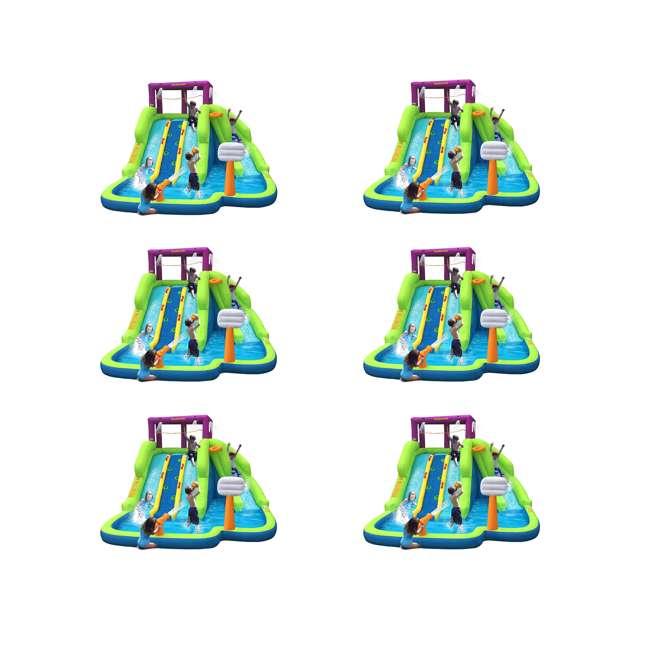 6 x 90360 Kahuna Triple Blast Inflatable Water Slide (6 Pack)
