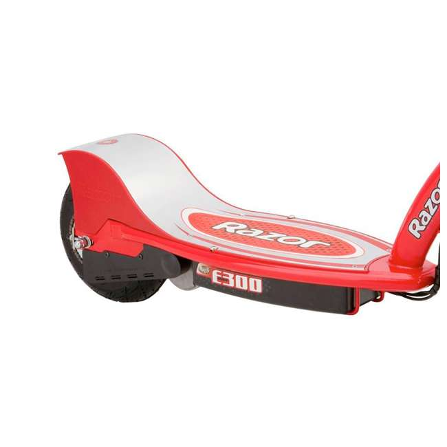 13113697 Razor E300 Electric Motorized Scooter, Red (2 Pack) 5
