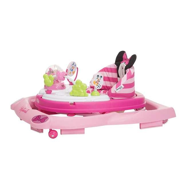 WA067CMH Disney Minnie Mouse Music and Lights Walker, Glitter Pink Minnie  1