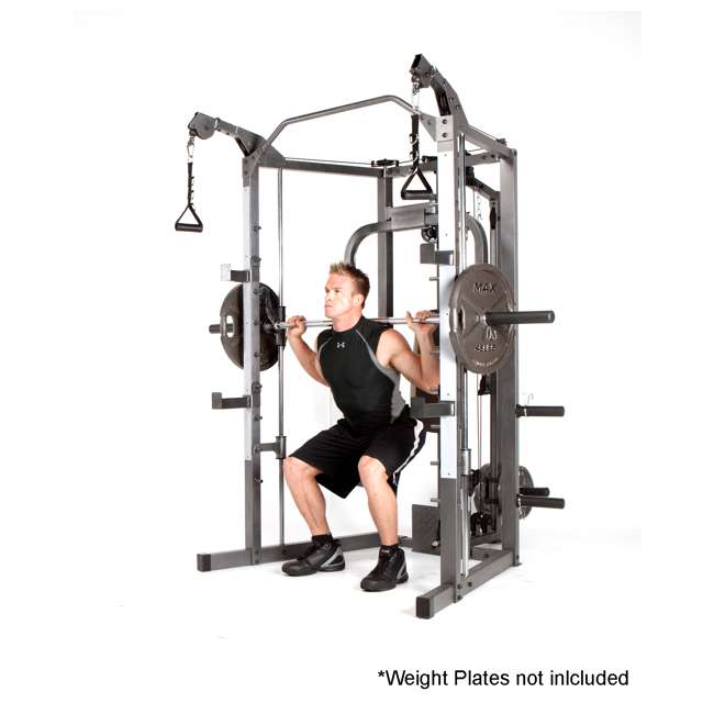 SM-4008 Marcy Combo Smith Strength Home Gym Machine 7