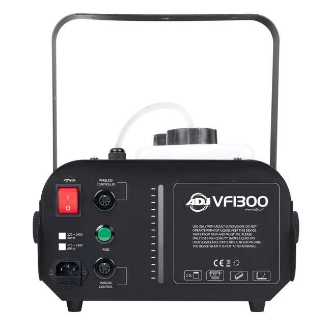 VF1300 + BLACK-24BLB American DJ 1300 Watt 2.3 L Tank Fog Machine w/ Remote & 24 Inch 20W Black Light 6