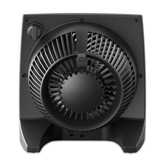 VOR-673-U-B Vornado Portable Medium Quiet Control Flat Panel Air Circulator Floor Fan (Used) 2