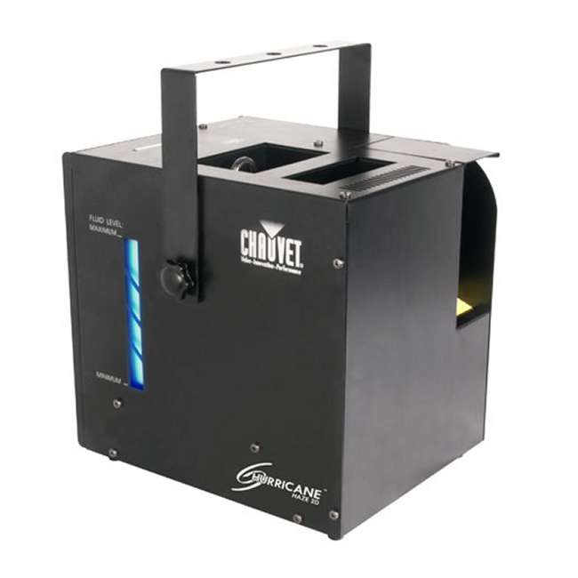 HURRICANE-HAZE2D + FJU + MINISTROBE-LED + BLACK-48 CHAUVET Fog Machine w/ Mini Strobe Light Effect, Black Light & Fog Fluid 5