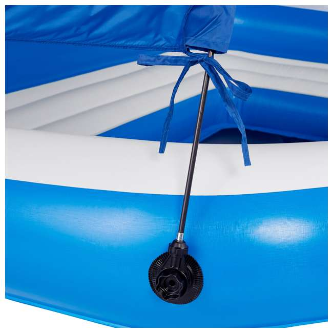 43105E-BW + 43115E-BW Bestway CoolerZ Tropical Breeze 6 Person Floating Island with 4 Person Island 8