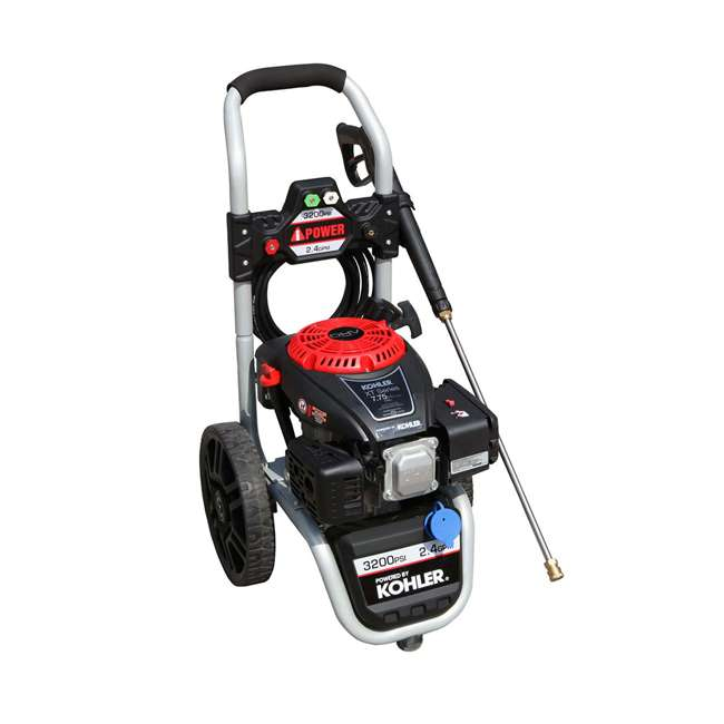 APW3200K A-iPower AWP3200K 3,200 PSI at 2.4 GPM Pressure Washer 1