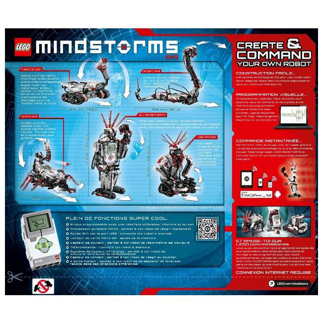LEGO Mindstorms Programmable EV3 Customizable Robot : 6029291
