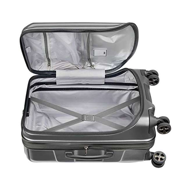 """40207980511 DELSEY Paris Cruise Lite 2.0 20"""" Hardside Expandable Carry On Travel Case, Gray 4"""