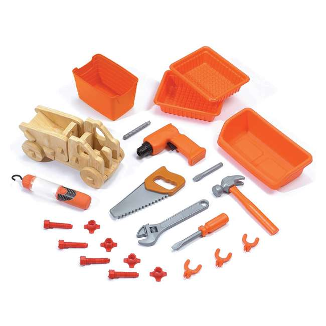 489499 Step2 Pretend Play Handyman Workbench, Orange 1