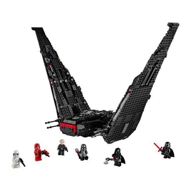 6251767 LEGO 75256 Kylo Ren's Shuttle Block Building Kit w/ 6 Star Wars IX Minifigures 1