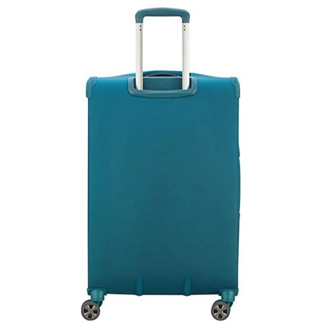 40229198732 DELSEY Paris 3 Sized Reliable Hyperglide Softside Travel Luggage Bag Set, Teal 6