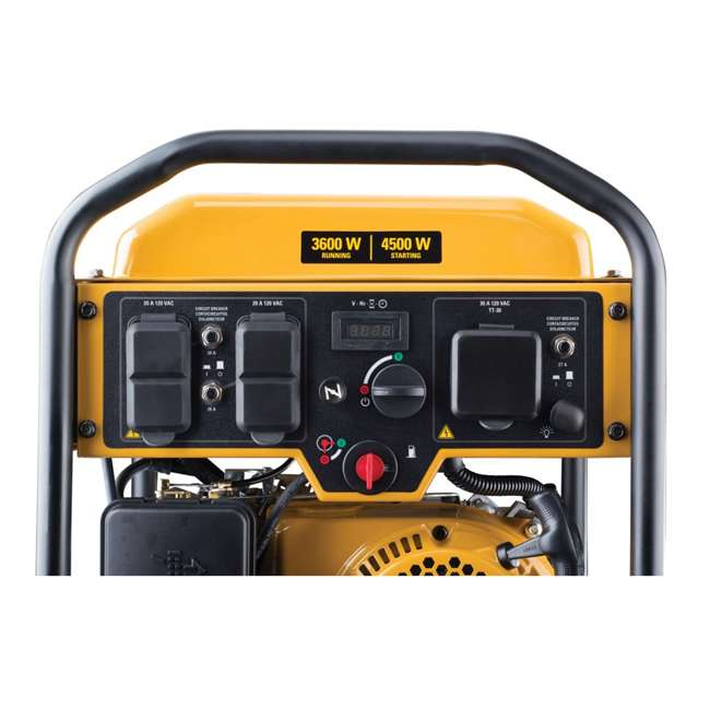 CAT-502-3684 CAT 502-3684 3,600 Running Watts 13 Hour 5 Outlet LED Lit Portable Generator 3