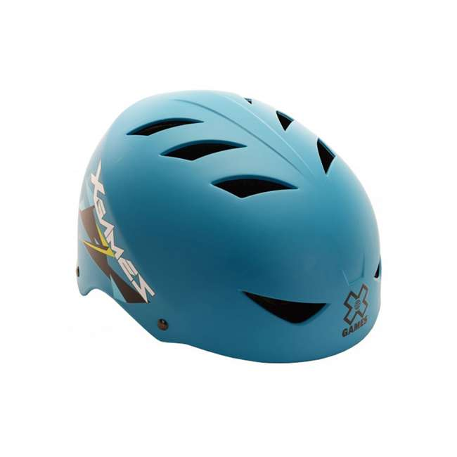 97405 OMA-XGames V17 Helmet - Youth - Satin Teal