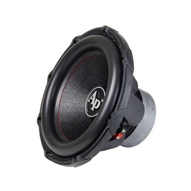 "TXX-BDC2-15-U-B AudioPipe High Power 1800W 15"" 4 Ohm DVC Car Audio Subwoofer, Black (Used)"