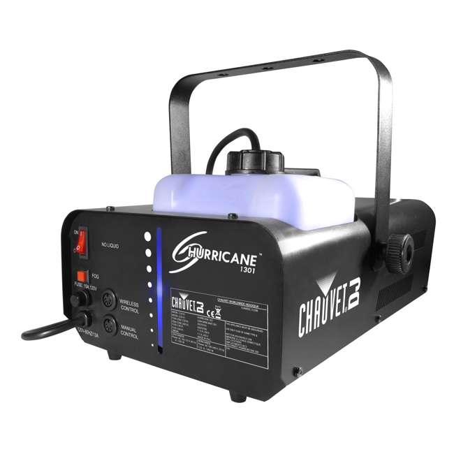 H1301 Chauvet Hurricane Pro Smoke Fog Machine with Wired Remote 3