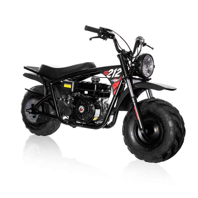 MM-B212-BR Monster Moto 212cc Gas-Powered Off-Road Mini Dirt Bike  5