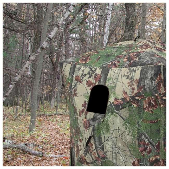 3 x BARR-RA200BW Barronett Blinds Radar Backwoods Lightweight Hunting Ground Blind (3 Pack) 3