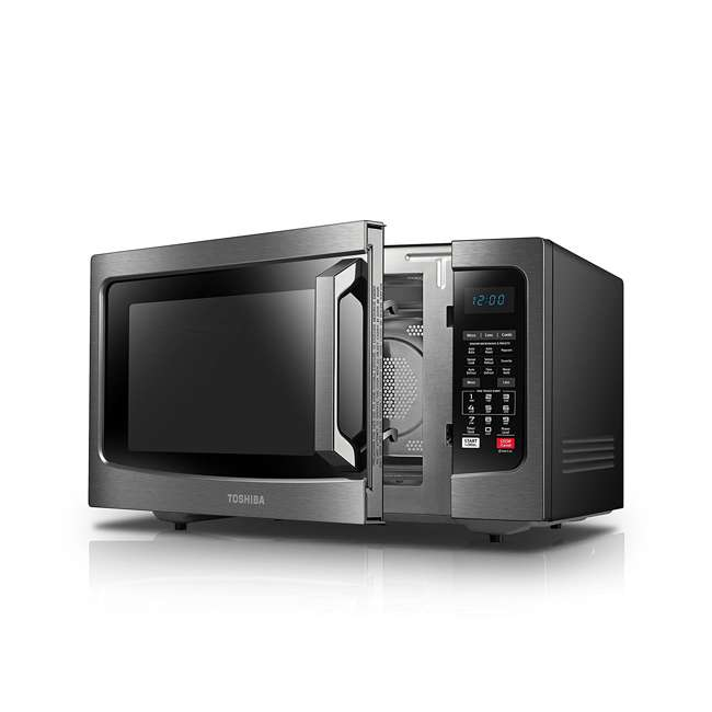 EC042A5C-BS 1.5 Cubic Foot Compact Convection Microwave Oven, Black 3