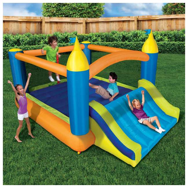 BAN-99522 Banzai Deluxe 2 in 1 Water Park and Bounce House Combo Pack  3