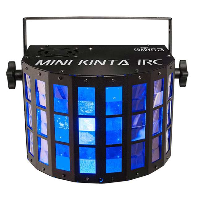 MINI-KINTA-IRC-2 Chauvet Mini Kinta 3W LED RGB DMX DJ Lighting