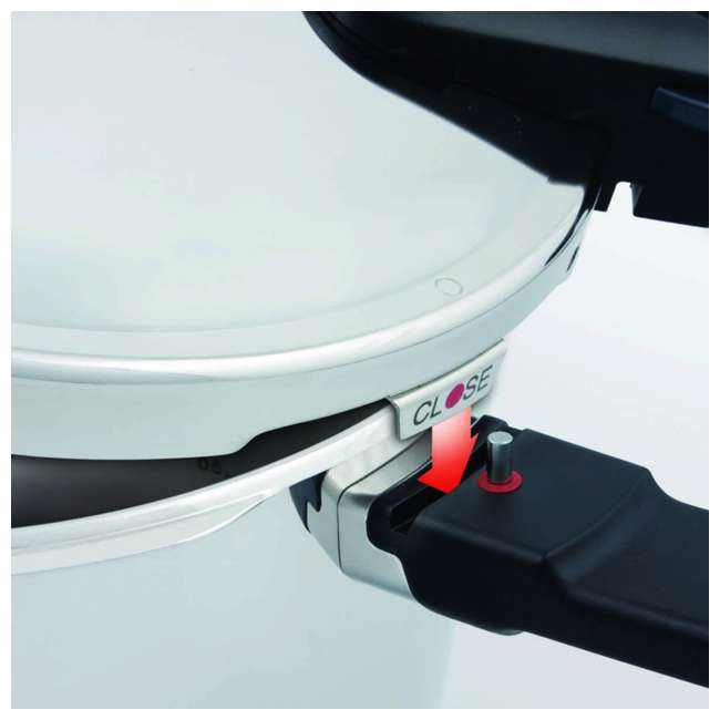 FISS-60030006079 Fissler Vitaquick 6.4 Quart Stainless Steel Stove Top Steam Pressure Cooker Pot 2