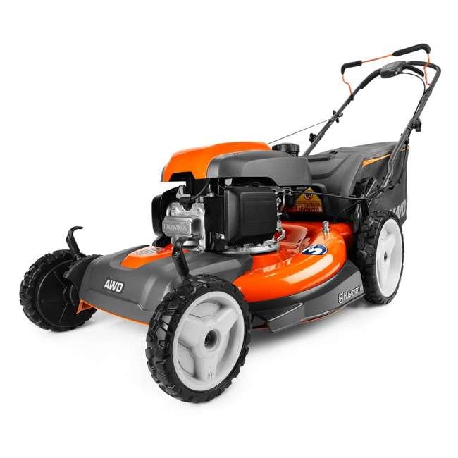 Husqvarna 190cc 22 Inch Self Propelled Awd 3 In 1 Gas Lawn