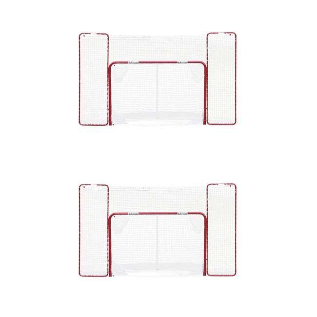 NEOP-67008 EZ Goal Regulation-Size Folding Hockey Goal with Backstop (2 Pack)