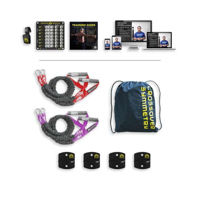IAA2 Crossover Symmetry Individual Exercise Package w/ Anchor Attachments, Athletic 5