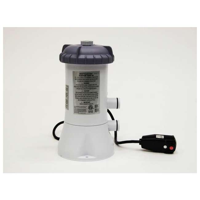 intex 530 gph easy set pool filter pump 12 type a filter. Black Bedroom Furniture Sets. Home Design Ideas