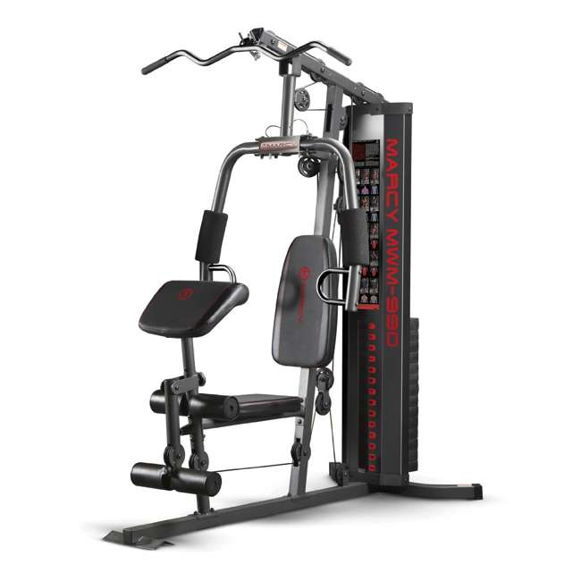 MWM-990-U-A Marcy Dual-Functioning Upper And Lower Body 150-Pound Stack Home Gym (Open Box)