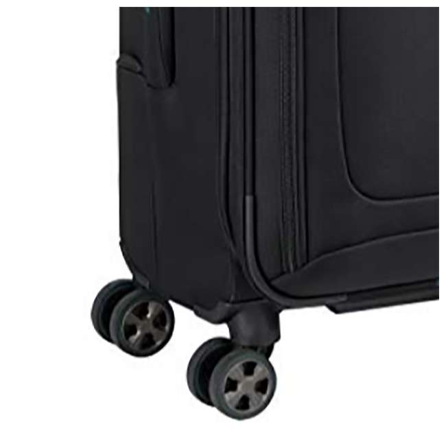 "40229180500 DELSEY Paris 21"" Expandable Spinner Upright Hyperglide Carry On Luggage, Black 4"