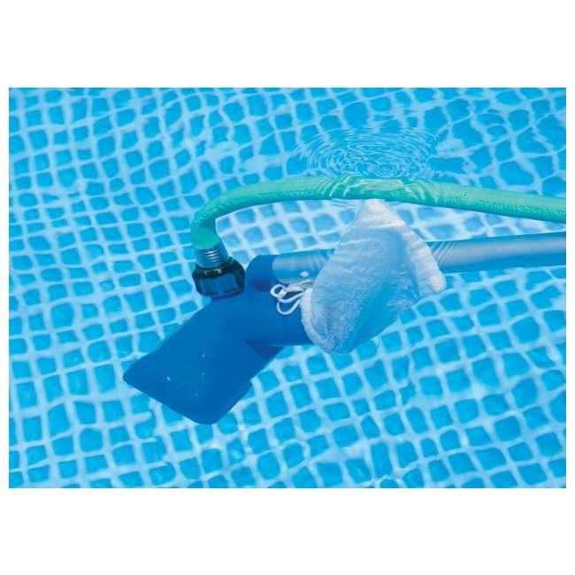 28002E-U-A Intex Cleaning Maintenance  Pool Kit w/ Vacuum & Pole (Open Box) (2 Pack) 2