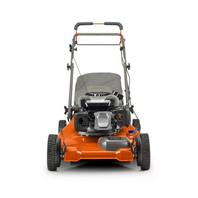 HV-WB-961480061 + HV-TOY-589289601 Husqvarna Front Wheel Drive Self Propelled Gas Lawn Mower + Kids Toy Lawn Mower 2