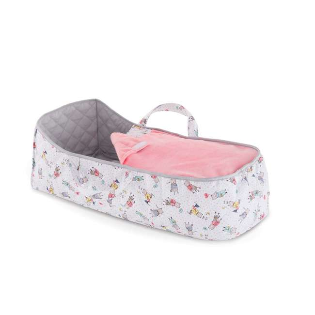 140250 Corolle Mon Grand Poupon Carry Travel Bed Accessory for Large 17 Inch Baby Dolls