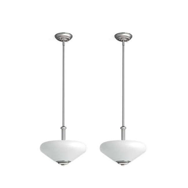 PLC-TC0026217 Philips 60-Watt Veccia Pendant Suspension Light (2 Pack)